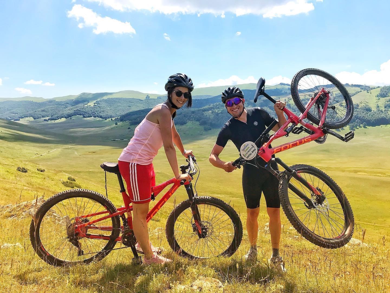 Escursione in E-Bike a Castelluccio 11 luglio 2020